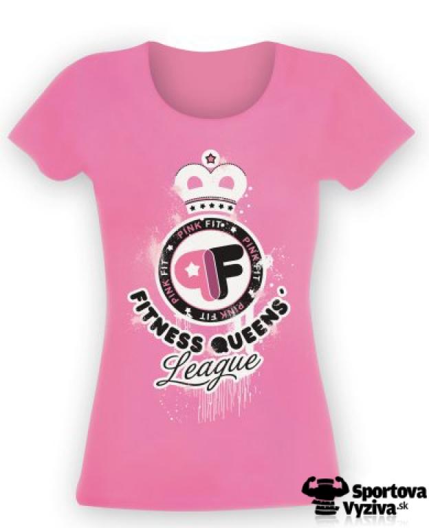 Pink Fit tričko Queens, dámske