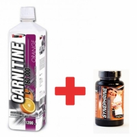 L-Carnitine 160 000mg - 1200ml + Synephrine 80 kaps. - Vision Nutrition